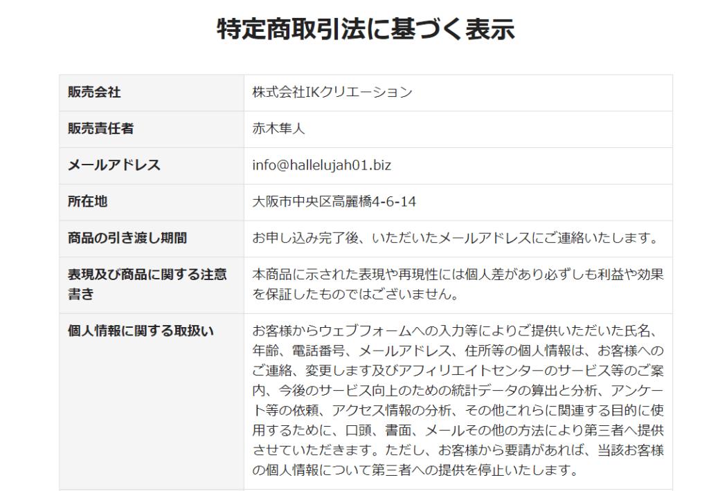 赤木隼人と清水聖子のHALLELUJAH PROJECT
