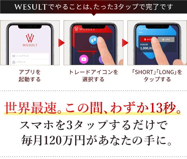 大野肇氏のWESULT_操作方法
