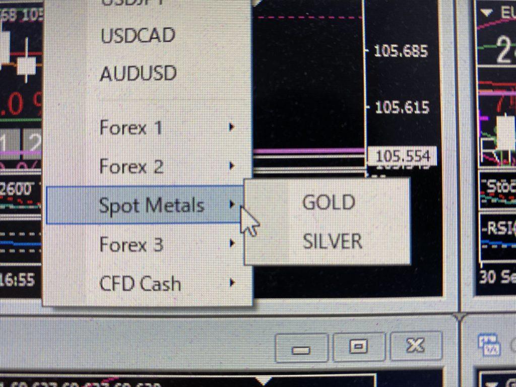 XMのゴールド取引